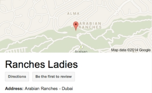 Ranches Ladies Map